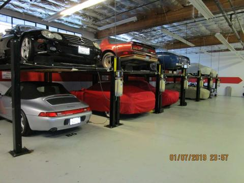 Classic Car Storage in Marin County