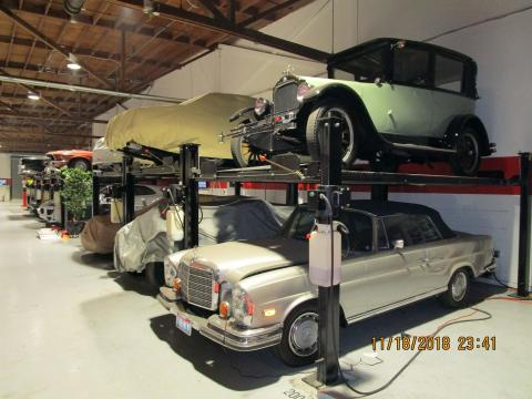 Marin County Classic Car Storage, San Rafael